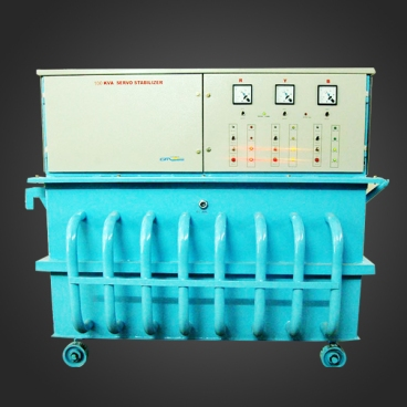 Three-Phase-Oil-Cooled-Servo-Controlled-Voltage-Stabilizer